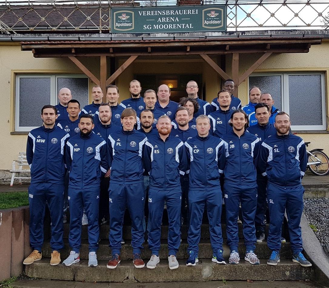 1. Männermanschaft Saison 2016/2017